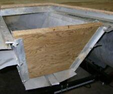 "Pontoon Boat Transom Wood 2'x4' 1.5"" thick"