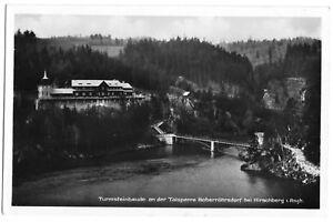 AK, Boberröhrsdorf, Talsperre u. Turmsteinbaude, 1932