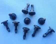 (346) 10x Motorschutz Schraube Motorhaube Abdeckung Clip schwarz