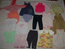Lot de 18 vêtements 12mois (74cm) Fille été / mi-saison