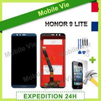 VITRE TACTILE + ECRAN LCD PRET-A-MONTER POUR HUAWEI HONOR 9 LITE BLEU + OUTILS