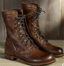 86dd0c9a726 Unbranded Lace Up Military Boots for Men for sale | eBay