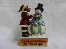 Jim Shore Boyds Kringle & Mr. Frostybottom Snow Better Friends 4035829 Snowman