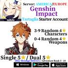 [America/NA/Europe/EU/Asia/AS] Genshin Impact Tartaglia/Childe Starter Account
