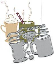 Dies...to die for metal cutting craft die Hot Cocoa Chocolate set