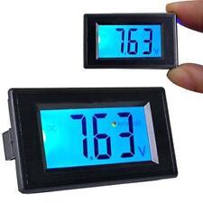 DC 3.5V-30V LCD Digital Voltage Volt Meter Voltmeter Panel Blue Backlight KJC