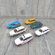 RIETZE - 1:87 Konvolut 6 Stk Audi, Ford, Fiat Opel Taxi Post Gendarmerie #L34326
