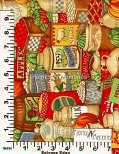 Farmer's Country Market Fabric F917 Concord House BY THE HALF YARD