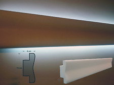 CORNICI IN POLISTIROLO TAGLIATE 150 X 60 X 1000 MM DECORAZIONI CASA CORNICE  LED