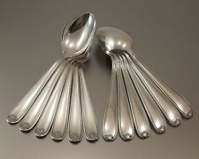 CHRISTOFLE MODELE COQUILLE MAROT 12 CUILLERES A ENTREMET METAL ARGENTE Ca1950