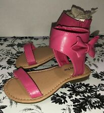 Girls Luck Top Toddler Sandals Size 7 NWB Pink Strappy