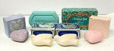 Lot of (4) Vintage Avon Soaps / 1990 AromaSpa / 2001 Floral Heart / 2x Dove