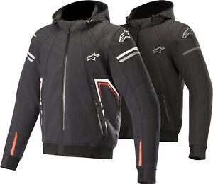 Alpinestars Sector Tech Men's Biker Jacket Hoodie Hooded Jacket Hoody