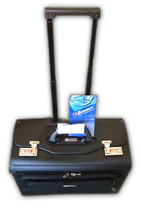 PILOT CASE WITH TROLLEY & REMOVEABLE  NOTEBOOK COMPARTMENT  IN PU MATERIAL 7103