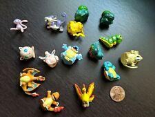 Vintage TOMY Tiny Pokemon Figures - 15 Total
