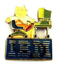 ordinateur ÉPINGLETTE /PINS - IBM comme sponsor de OLYMPIADE 1992 / Barcelone