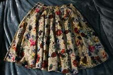 D&G Dolce and Gabanna Floral Patterned A-Line Skirt Size: XS,US2, IT38
