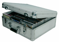 Citronic CDA-96 Aluminium 96x CD Compact Disc Flight Carry Storage Case Box