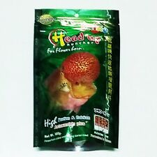 100 g L Pellets Okiko Floating Calcium Head Faster Cichlid Flowerhorn Fish Food