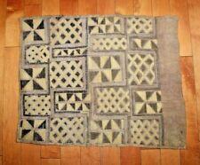 Original African KUBA Cloth Textile Hand Made Democratic Republic of the Congo