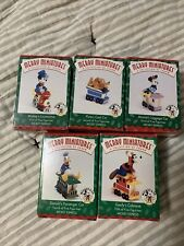 Hallmark Merry Miniatures Mickey Express Set Of 5