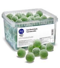 Fazer Vihreitä Kuulia - Green Jellies Beans (Pear)  2.2kg 4.85lb
