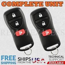 2 For 2009 2010 2011 2012 2013 2014 2015 Nissan Xterra Remote Car Key Fob