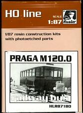 Hauler Models 1/87 PRAGA M120.0 RAILWAY BUS Resin and Photo Etch Kit