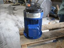 ABB MOTOR 0.37KW RPM 1400 320-420V/220-240V MODEL#C1.F1P551EC34 #13134T USED