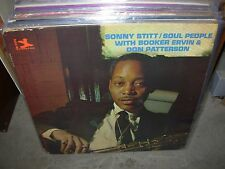 SONNY STITT / BOOKER ERVIN soul people ( jazz ) - prestige 7372 - RVG -