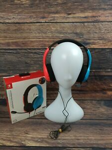 PDP Officially Licensed LVL40 Wired Stereo Gaming Headset. Nintendo Switch