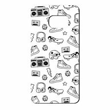 For Samsung Galaxy S7 Silicone Case Music Headphone Pattern - S5073