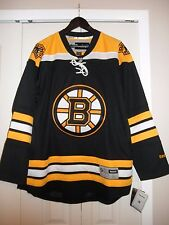 Men's Boston Bruins Reebok Premier Home Black Hockey Jersey, Size Large, NWT'S