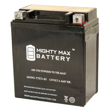 Mighty Max YTX7L-BS 12V 6AH Sealed AGM Battery for Motorcycle