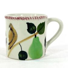 Hartstone Pottery PARTRIDGE PEAR TREE 14oz Mug 12 Days Christmas Vintage 1982