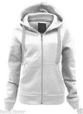 Abrigos y chaquetas de mujer polar de poliéster de color principal blanco