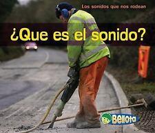 ¿Qué es el sonido? (Bellota) (Spanish Edition)