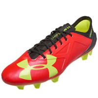 Under Armour Mens Cleats Size 12 Spotlight Pro 2.0 FG Rocket Red 1272298-669