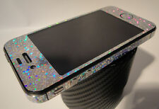 iPhone 4s * SPARKLES * RAINBOW  *   Full Body Vinyl Decal Skin Vinyl Sticker