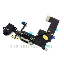 iPhone 5C Dock Connector Micro USB Charger Charging Port Black Replacement Part