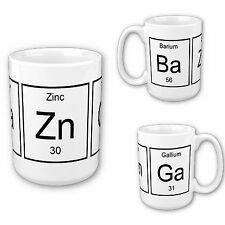 The Big Bang Theory Bazinga Elements Geeky Mug / Cup 11oz *Free Delivery*