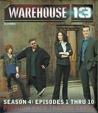 Warehouse 13 Season 4 Factory Sealed Premium Pack Autograph Costume Relic Card