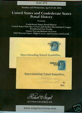 Siegel Auction 875 US Confederate States Postal History