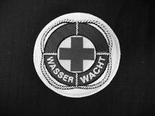 Wasserwacht Rundemblem Embleme Patch Aufnäher