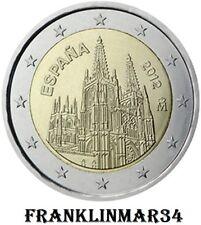 MONEDA CONMEMORATIVA DE 2 EUROS DE ESPAÑA 2012 . SIN CIRCULAR