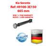 TRANSMISION CARDAN Kia Sorento 49100-3E150, 491003E150  / BRAND NEW PROPSHAFT
