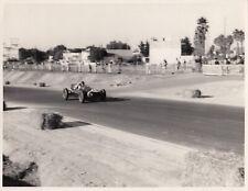 JACK BRABHAM COOPER T43 CLIMAX MOROCCAN GP 1957 F1 ORIGINAL PERIOD PHOTOGRAPH
