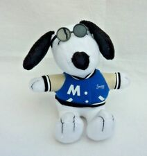 Snoopy Joe Cool Metlife Plush Toy Letterman Jacket Varsity Sport Sunglasses
