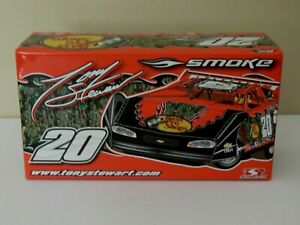 TONY STEWART 2008 BASS PRO SHOPS 1/24 ADC DIRT CAR DIECAST PRELUDE TO A DREAM