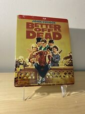 Better Off Dead Bluray steelbook, Sealed, New, John Cusack Please Read